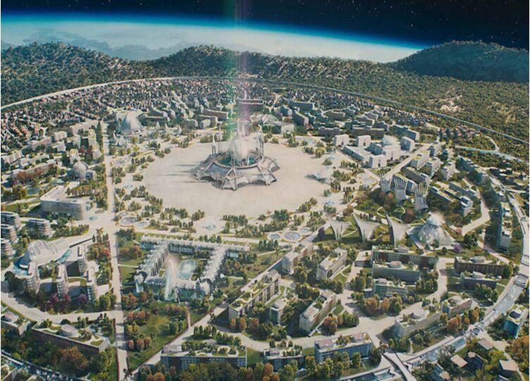 Resultado de imagem para Nosso Lar é uma colônia-cidade
